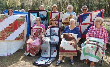 LADIES OF THE JAN-FEB 2019 QUILTING CLASS